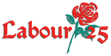 Labour25 logo with transparent background
