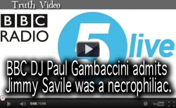 BBC DJ Paul Gambaccini admits Jimmy Savile was a necrophiliac