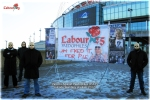 Parents Against Paedophiles (P.A.P) Outside Wembley Stadium 2012 (B)
