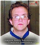 Labour Party Paedophile Timothy Edmeades