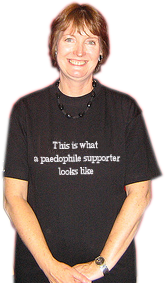 Harriet Harman supports paedophiles