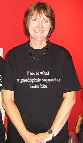 Harriet Harman supports paedophiles