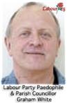 Labour Party Paedophile  & Parish Councillor  Graham White