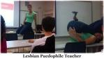Lesbian Paedophile Teacher