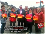 Labour party paedophile Andrew Palmer with his Labour friends