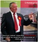 Thurrock Labour councillor Terry Brookes